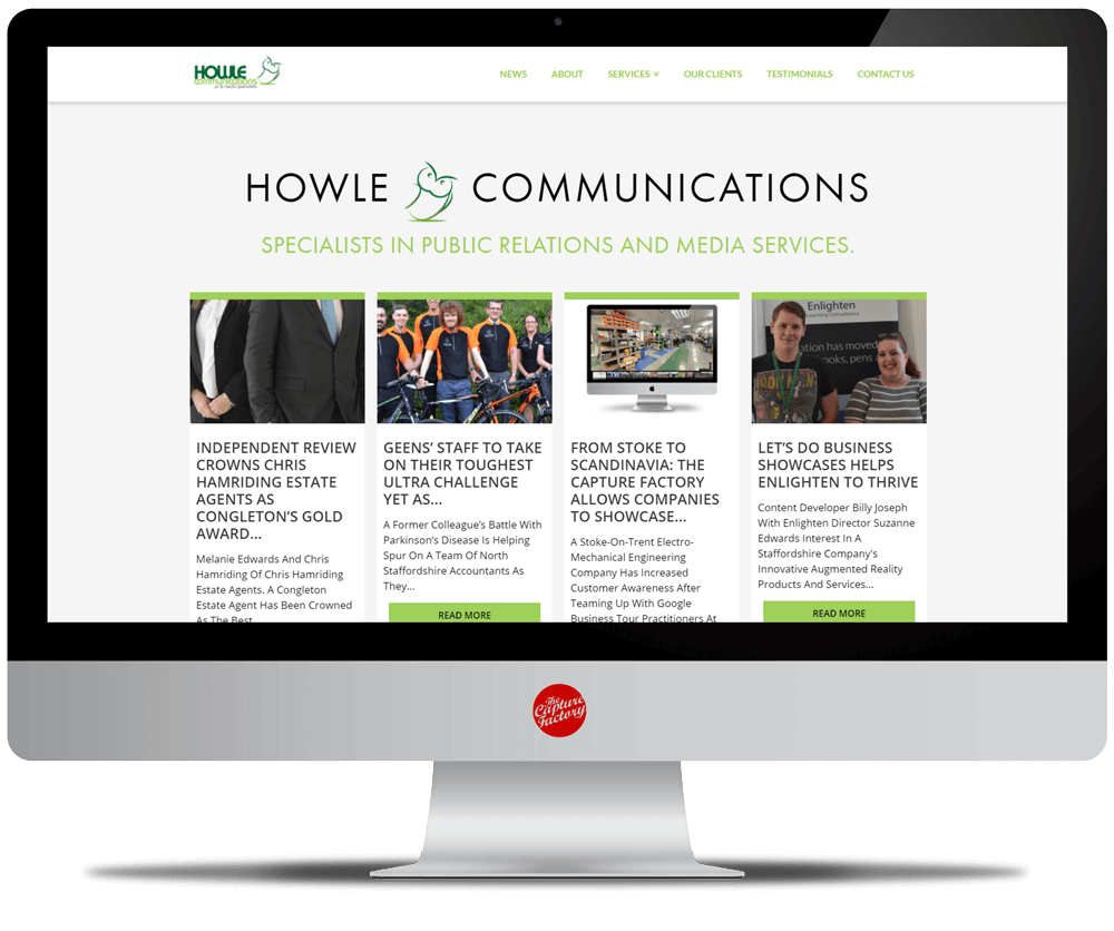 SEO Basics Business Blogging Howle Communications Website