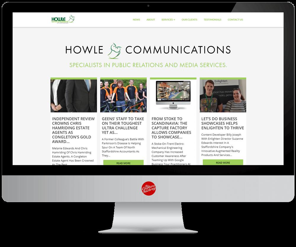 SEO Basics Business Blogging Howle Communications Website