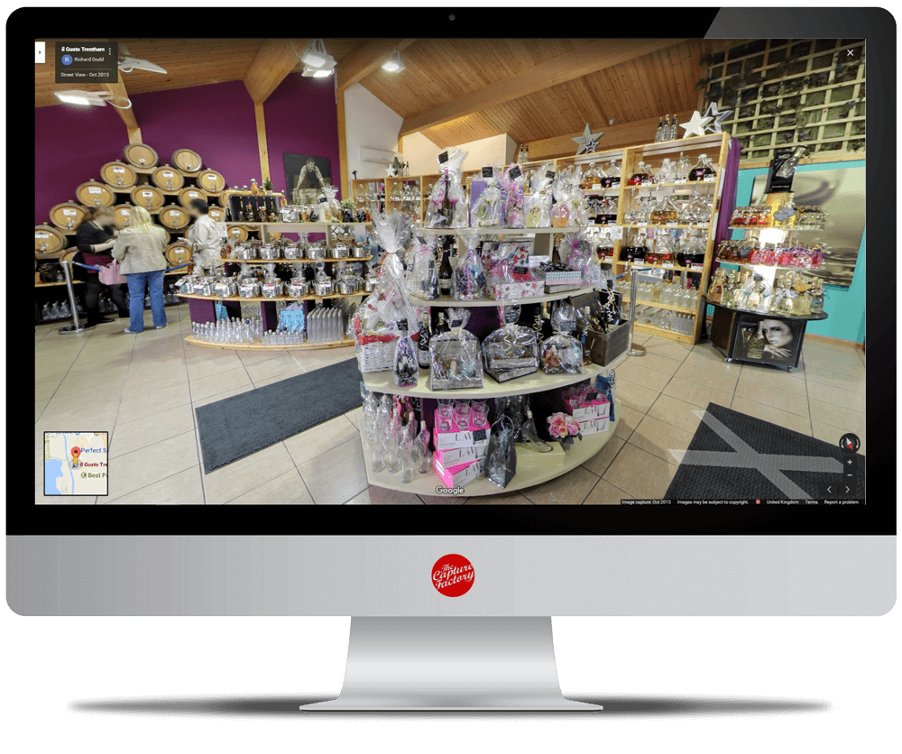 Indoor Street View Google Business View 360 Virtual Tour