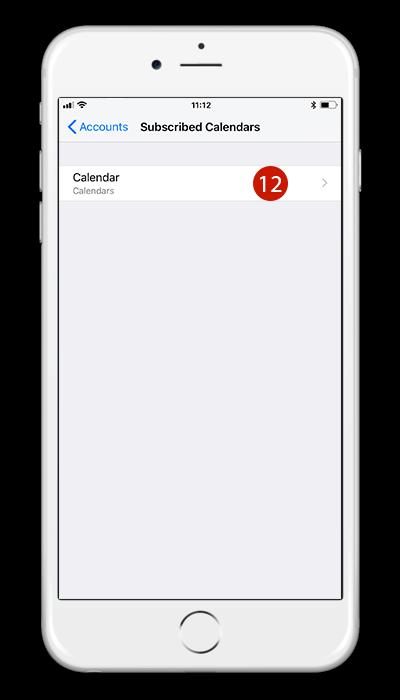 Share Calendar iPhone